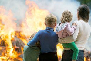 residential fire damage restoration